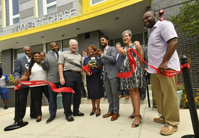 Transformation of Johnston Square Kicks Off with Grand Opening of Greenmount & Chase